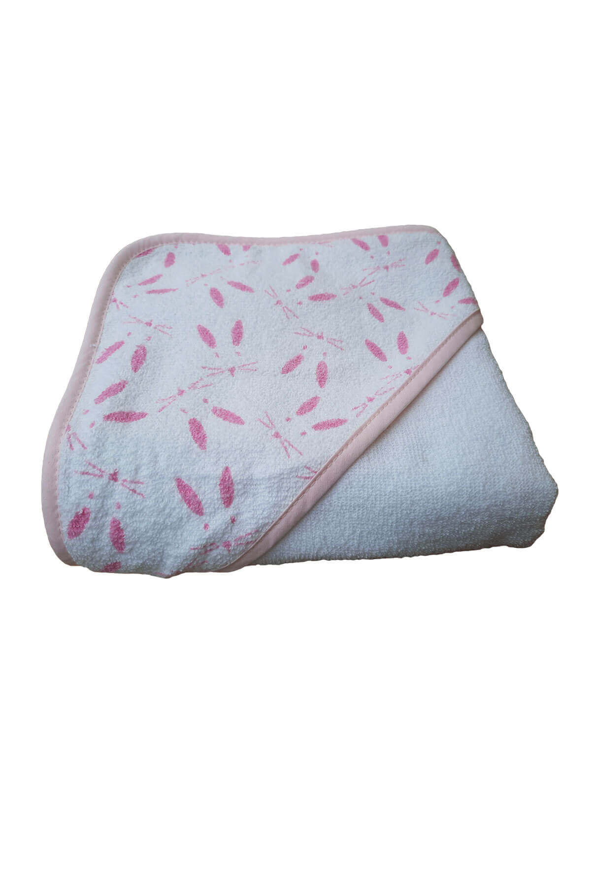 Bebek Kundak Banyo Havlusu Tavşan Desenli Bebek Havlusu 75x75