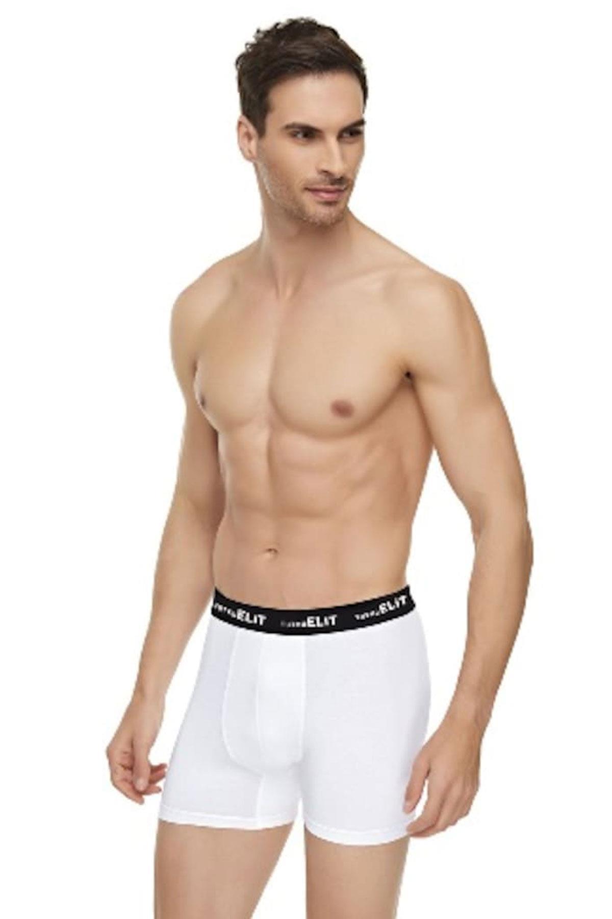 Tutku İç Giyim Elit Modal Erkek Spor Boxer Külot Don 5 li Paket